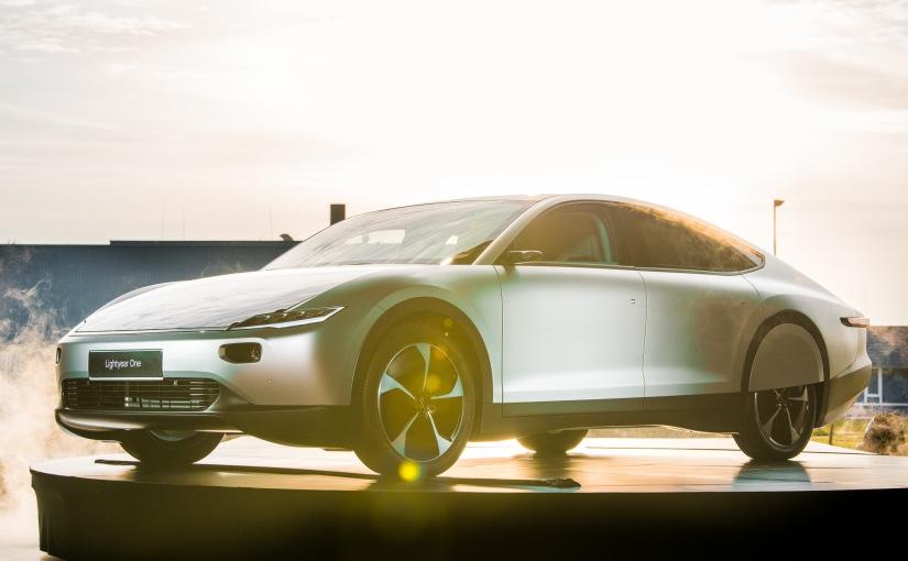 lightyear electric solar vehicle