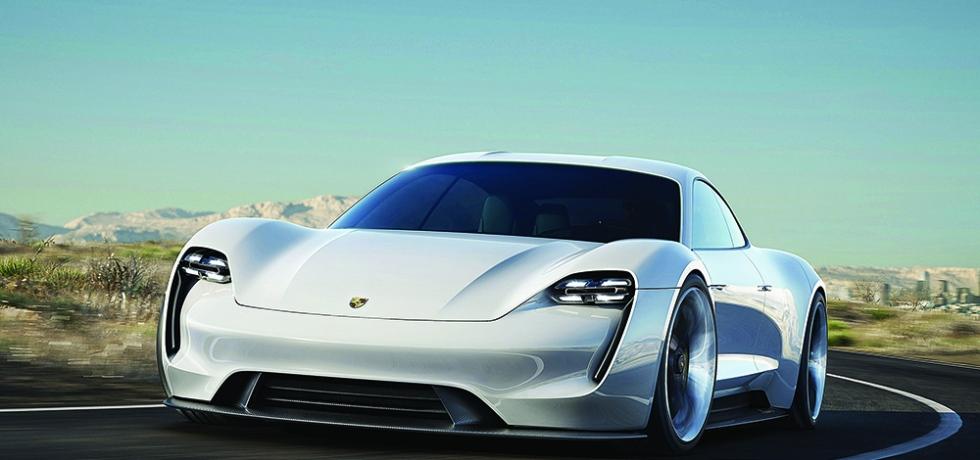 porsche electric car
