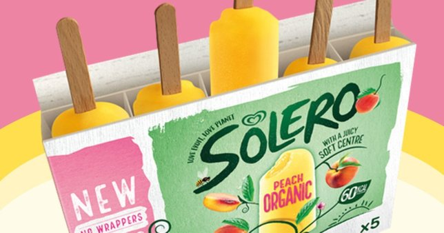 Solero Removes Plastic Wrapper From Lollies to Cut Single-Use Plastic
