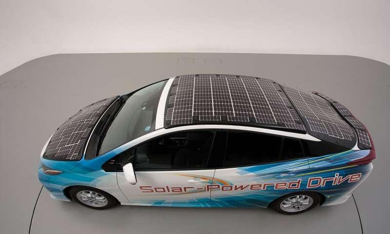 toyota solar panels