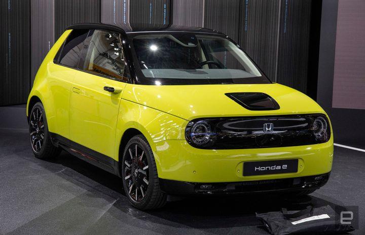 Honda E Electric Car