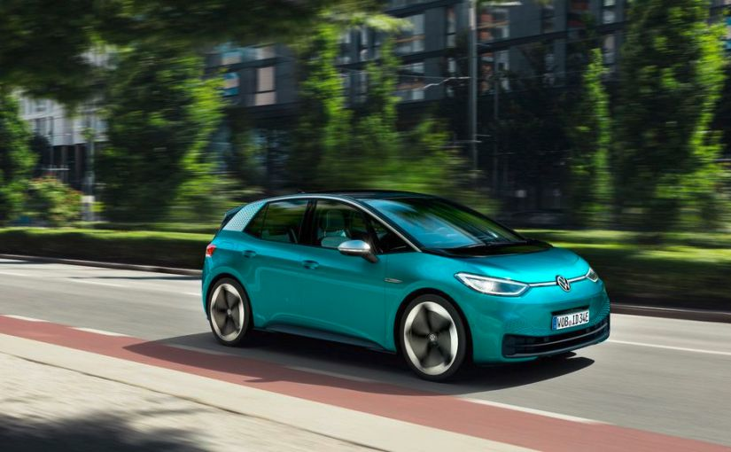 VW First Electric Car
