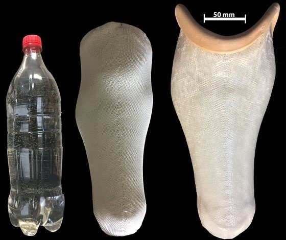 Turning Plastic Bottles into Prosthetic Limbs